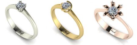 Karl eljegyzési gyűrű
