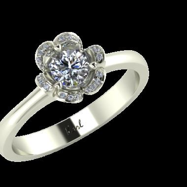 Modern eljegyzési gyűrűk