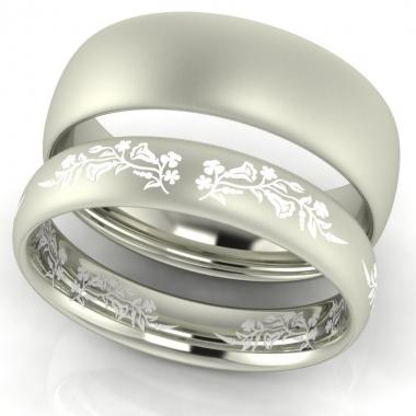 First Love Kalocsai mintás karikagyűrű karikagyűrű