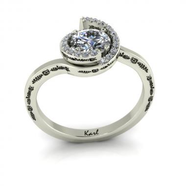 Altesse eljegyzési gyűrű