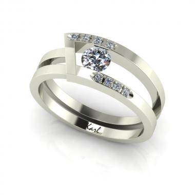 Ornella eljegyzési gyűrű