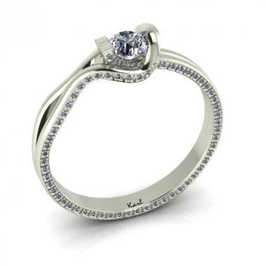 Zaria eljegyzési gyűrű