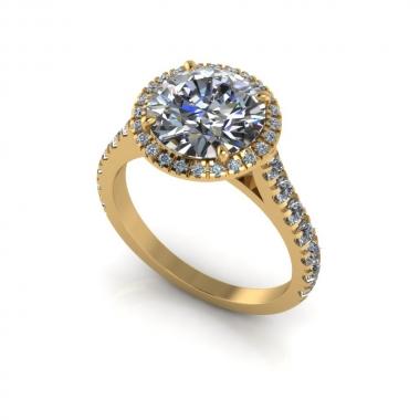 Fire King eljegyzési gyűrű