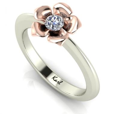 Lavender eljegyzési gyűrű